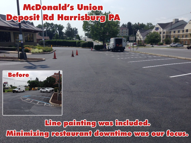 Paving McDonalds Union Deposit Rd Harrisburg - 1