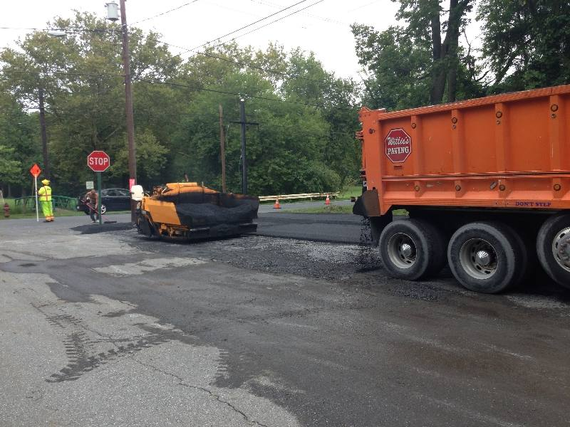 Highspire PA Commercial Paving Job
