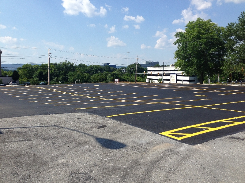Holy Spirit Hospital Paving And Line Painting