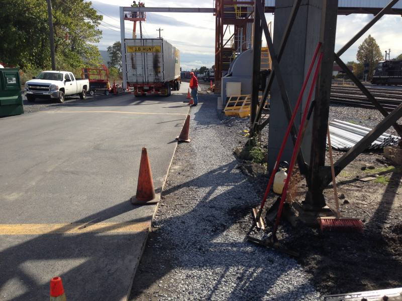 commercial paving at norfolk southerm