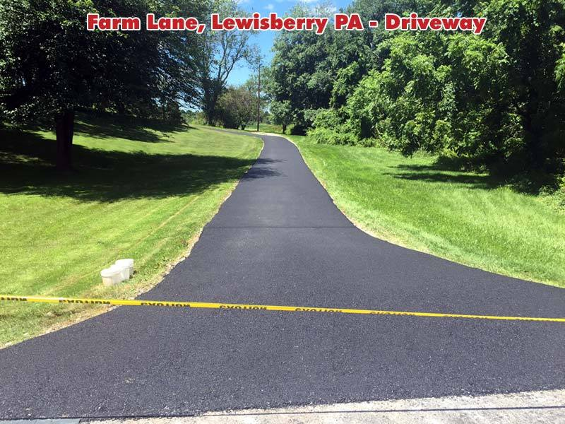 Private Lane Paving Lewisberry PA