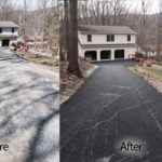 residential job for paving contractor