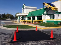 Recent Work Paving & Sealcoating Work