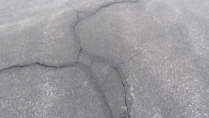 Are these on your driveway? If so it needs repair work done.