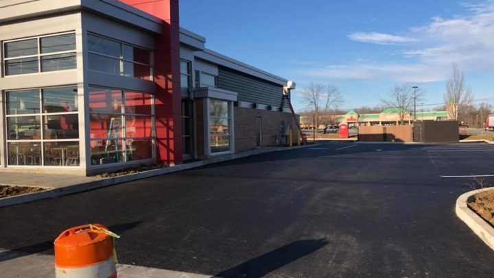 New Wendy's. Whitehall Pa
